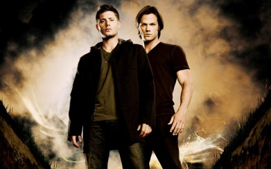 Dean, left, and Sam, right